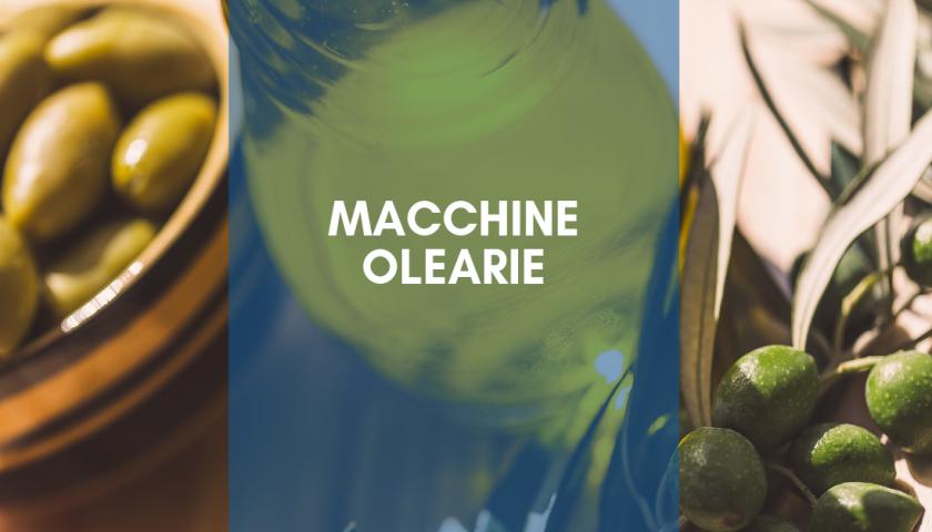 macchine olearie